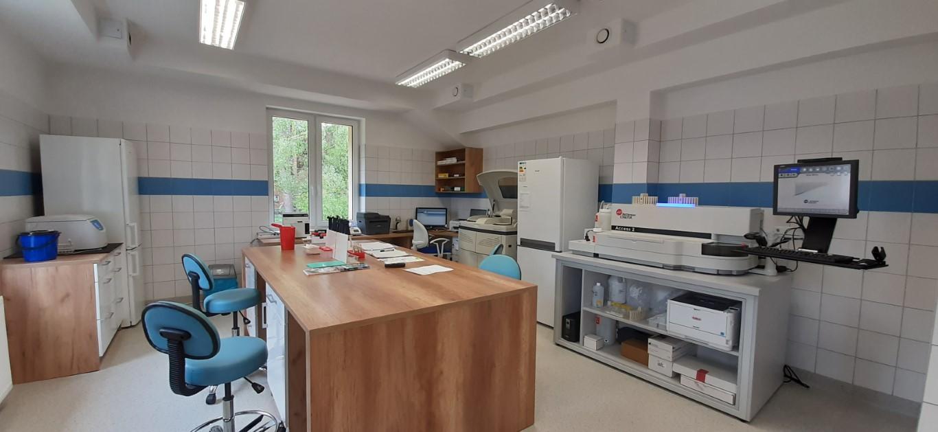 Laboratorium Szpitala w Ciborzu Pracownia biochemii