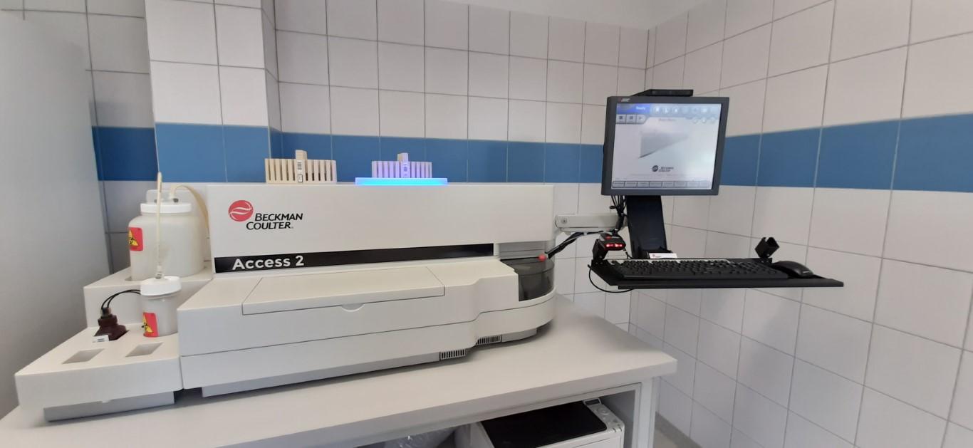 Laboratorium Szpitala w Ciborzu Analizator immunochemiczny Access 2