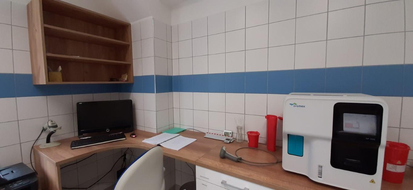 Laboratorium Szpitala w Ciborzu Analizator hematologiczny XP 300