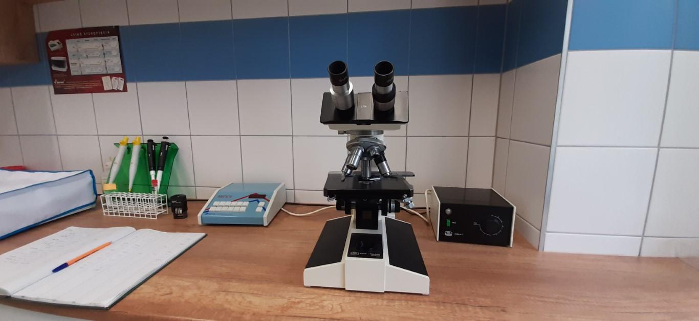 Laboratorium Szpitala w Ciborzu Pracownia hematologiczna