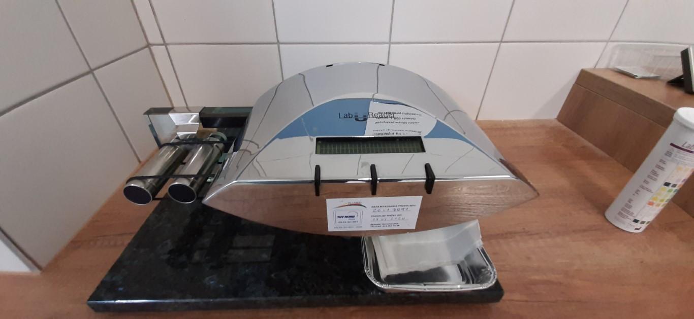 Laboratorium Szpitala w Ciborzu Analizator do moczy Labureader