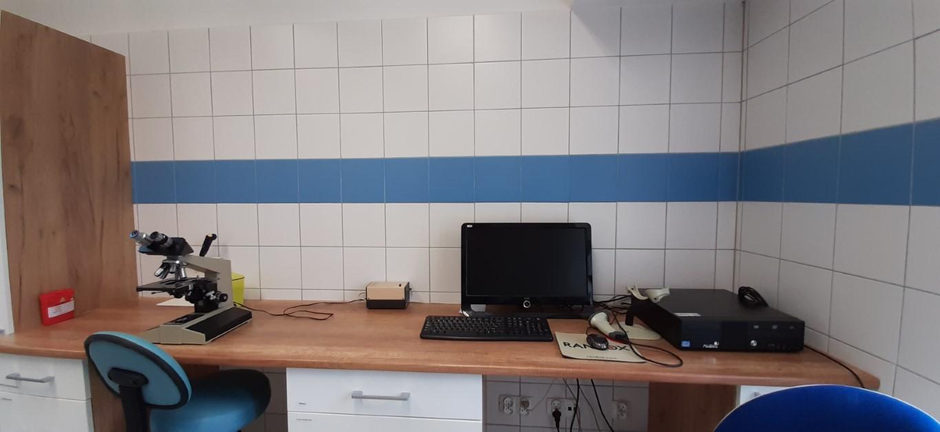 Laboratorium Szpitala w Ciborzu Pracownia analityczna