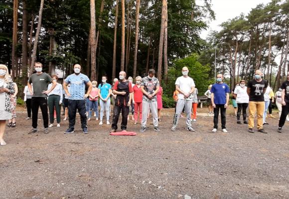 Szpital w Ciborzu podjął wyzwanie i wsparł zbiórkę #GaszynChallenge dla Franka