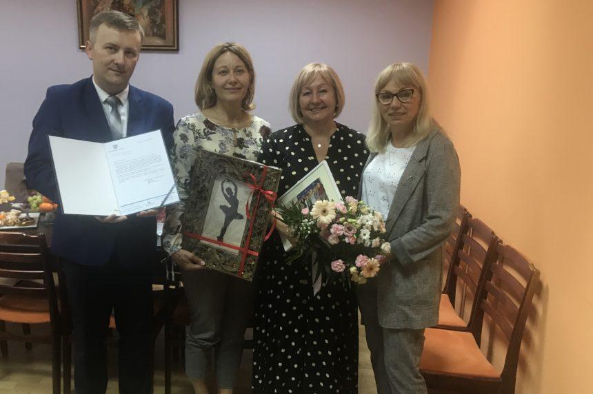 Dziękujemy Jolancie Balcerzak za wieloletnią pracę na rzecz Pacjentów Szpitala w Ciborzu