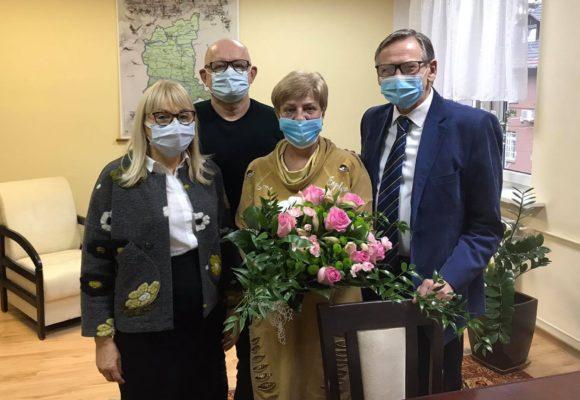 Kierownik Apteki Szpitalnej Ewa Tatarynowicz odeszła na emeryturę