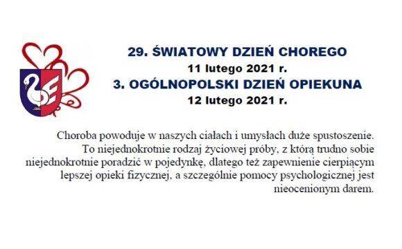 Życzenia od władz Zbąszynka