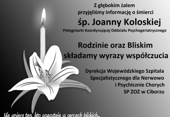 Zmarła Joanna Koloska